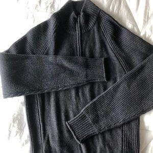 Wool Half Zip